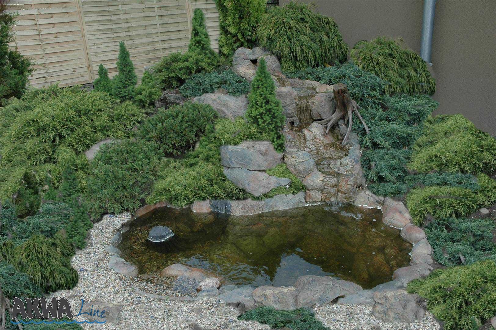 Voorgevormde vijver type 1 akwaline for Tuin en vijver