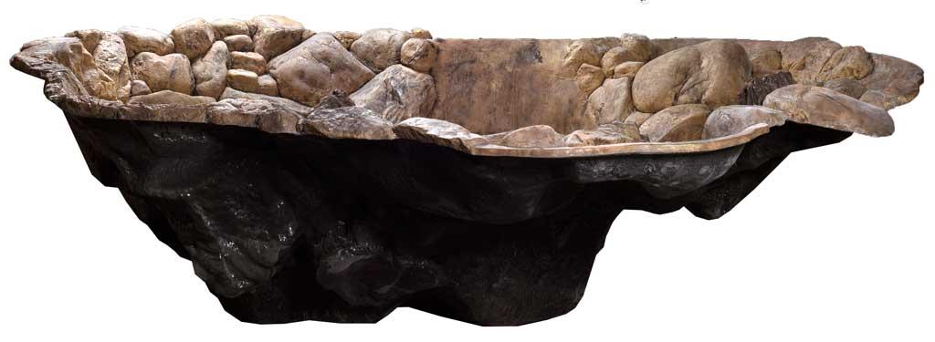 Voorgevormde vijver type 2 akwaline for Voorgevormde koivijver